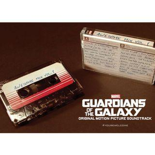 🚚 星際異攻隊 原聲帶卡帶 Guardians Of The Galaxy Awesome Mix Vol.1