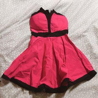 性感俏皮洋裝 (附內裡胸罩)#半價衣服拍賣會