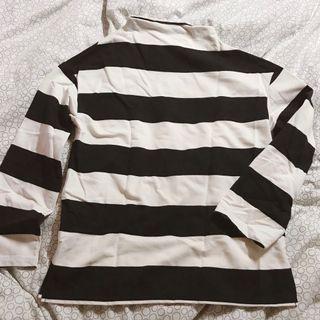 Pazzo 條紋長袖上衣 #半價衣服拍賣會