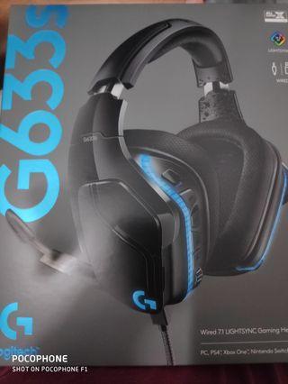 Logitech g633s gaming headset