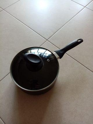Cooking Pan with glass lid