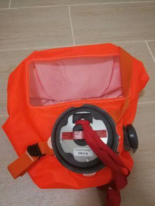 全新 Darger世界認可 可防煙霧、部分毒氣的專業型面罩裝備