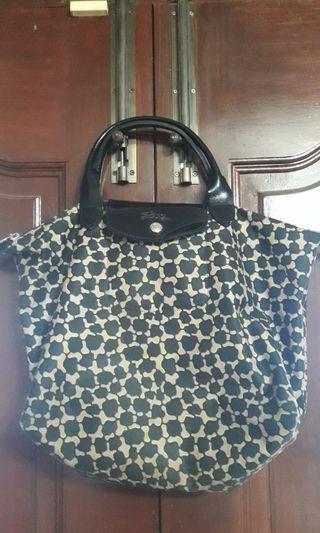 Preloved Longchamp Medium Leopard print