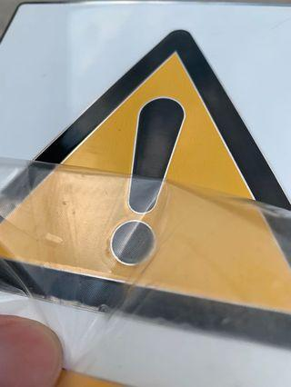 Custom Stainless Steel Chemical Signage
