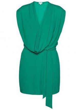 Aritzia T. Babaton emerald green dress size xs