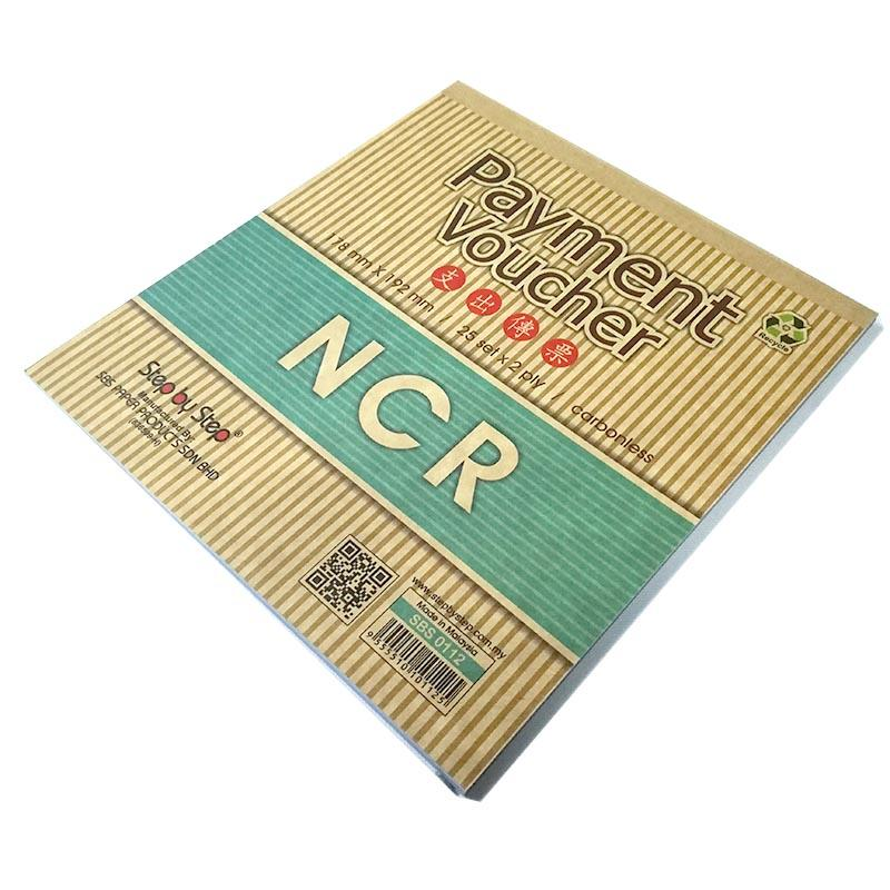 [10 Books] SBS0112 Carbonless NCR Payment Voucher 178mm x 192mm (25 sets x 2 ply)