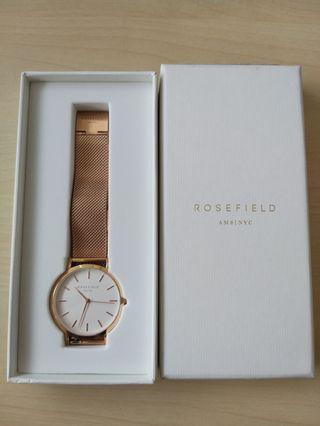 Rosefield The Mercer Rose Gold Ladies watch (mwr-m42)