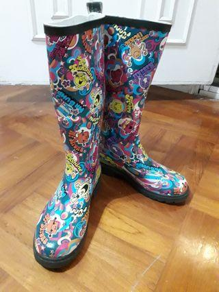 little ms X Bossini rain boot 水鞋