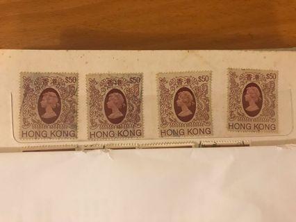經典英女皇郵票