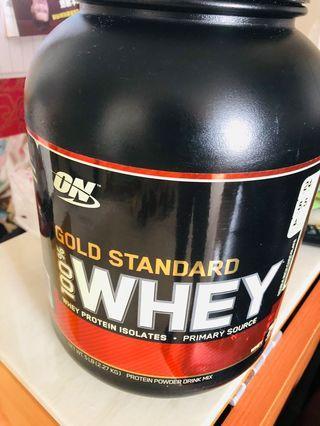 on protein powder drink mix