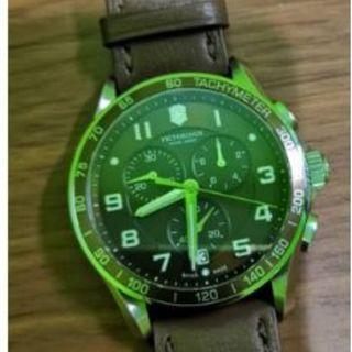Victorinox Swiss Army Chrono Classic Brown Dial Men's Watch