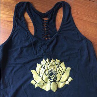 OM Lotus Yoga Top (M)