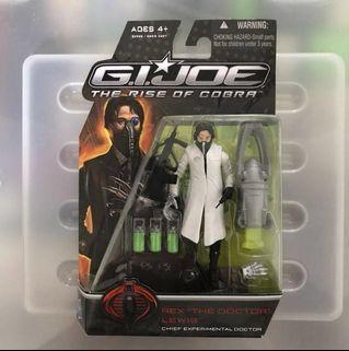 "Hasbro G.I.Joe The Rise of Cobra Rex ""The Doctor"" Lewis (white coat variant)"