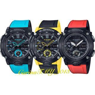 New Timepieces To Men's G-SHOCK Carbon Series