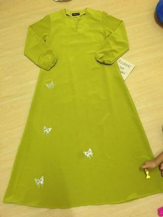 Jubah maxi dress