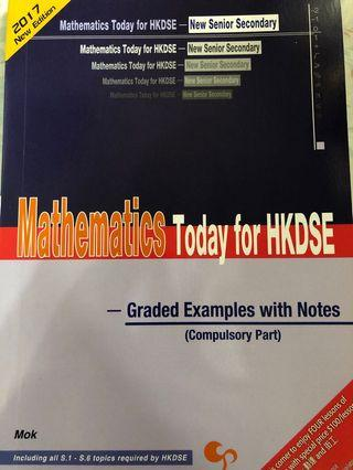 [DSE Maths] Mathematics Today for DSE - Graded Examples with Notes
