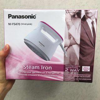 🚚 全新Panasonic 蒸氣電熨斗