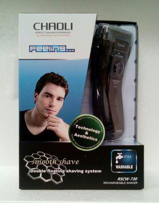 CHAOLI SHAVER 充電鬚刨 雙網浮動刀頭 貼身乾淨 可水洗
