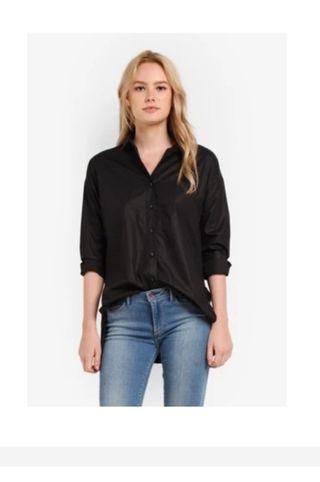 🚚 Side Slit Oversized Shirt