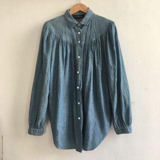 日本製 Ralph Lauren 宮廷感牛津襯衫