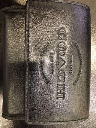 Coach card/coin pouch