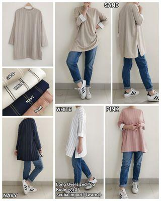 long oversized top