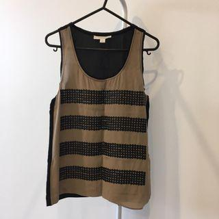 Country Road Sleeveless Shirt (Aus Size XS or 8)