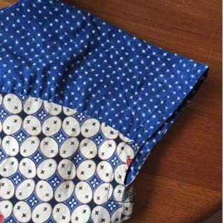 Batik Cap Sleeve Blouse