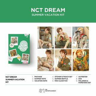 [GO] NCT Dream 127 Summer Vacation Kit