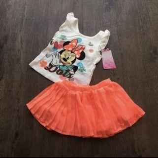 🚚 Minnie Mouse set for age 2-3 yrs old