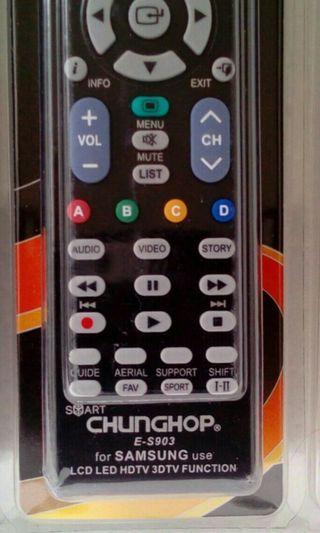 SAMSUNG LCD LED TV REMOTE 三星電視專用摇控