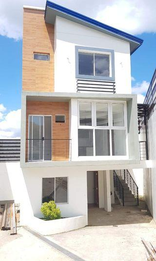 Single Attached House and Lot for sale in Suburban Heights Cainta Ortigas Extension