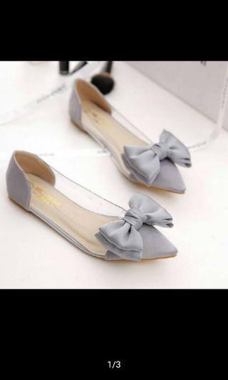 Sepatu Flat Mika abu