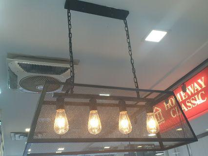 Hanging Cage Light for Dining