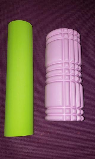Soft and medium foam rollers
