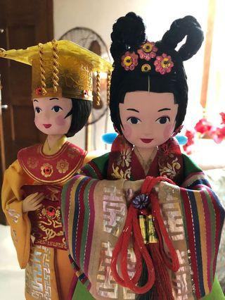 Korean Couple Dolls