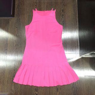 GG<5 GG5 Fuschia Hot Pink Dress