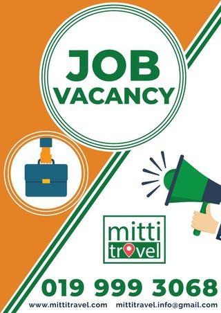 Sales Officer - Travel Agency