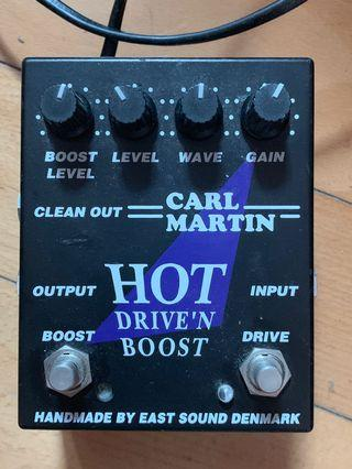 Carl Martin Pedal Hot Drive'n drive and boot Denmark handmade