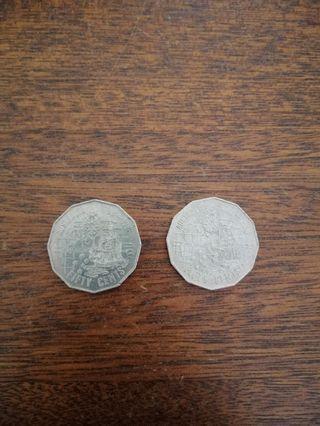 First fleet 50¢ coin