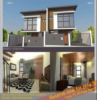 AFFORDABLE Pre selling House and Lot in Antipolo