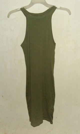 Dress Army Forever 21 Original