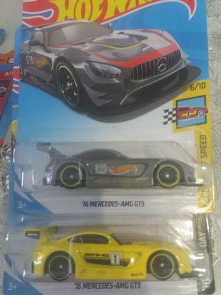Matchbox 16 Mercedes AMG GT3
