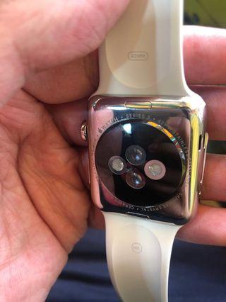 Apple Watch 3 42mm LTE Steel 鋼