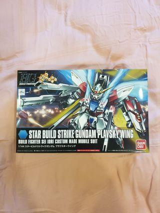 <Free Mailing> HGBF Star Build Strike Gundam Plavsky Wing