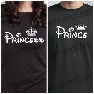 Prince & Princess Couple T-Shirt