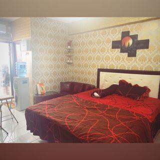 sewa apartment studio gateway cicadas ahmad yani