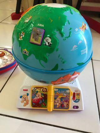 Fisherprice globe
