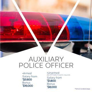 Auxiliary Police Officer (Armed & Unarmed)