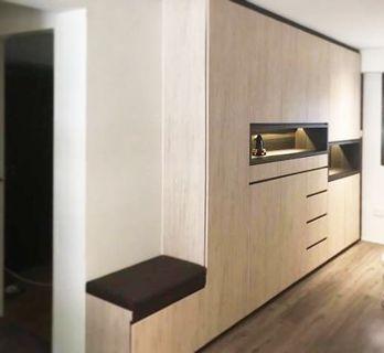 (S14) laminate full height cabinet